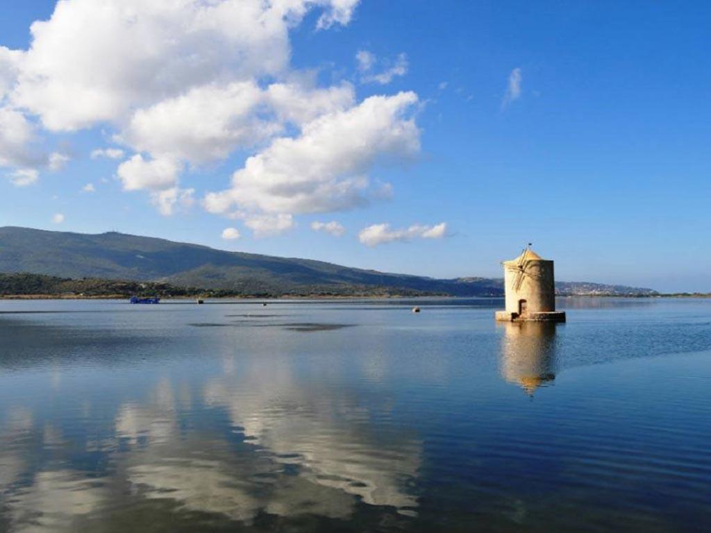 Oasi naturale della laguna di Orbetello