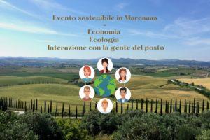 Evento sostenibile in Maremma